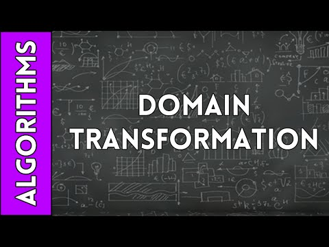 Domain Transformation to Improve Algorithm Run-Time