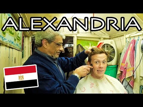 First Impressions of ALEXANDRIA, EGYPT! Cow Brains & Street Haircuts