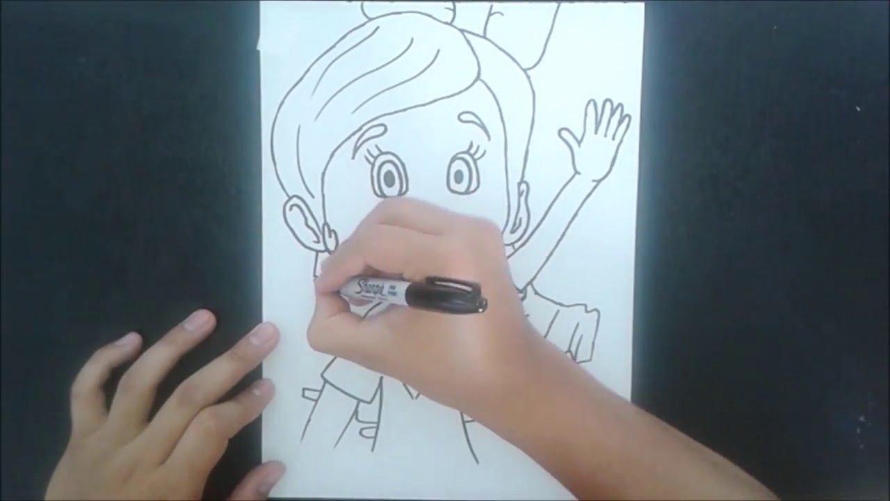 Disney Junior Dibujando A Goldie Goldie Y Osito Baron