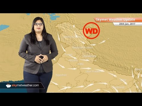Weather Forecast for Jan 28: Clear weather in Kashmir, Himachal, Delhi, rain in TN, Kerala