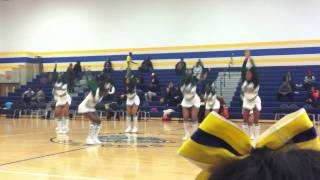 Cass Tech Cheer Halftime