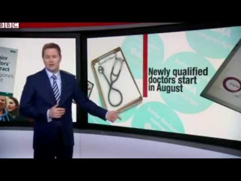 Employment Law Solicitor Nicholas Lakeland discusses junior doctors BBC NEws
