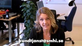 Öppna data från SMHI i Hack for Sweden