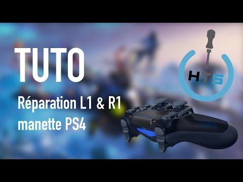 Tuto Dualshock 4 Bouton L1 R1