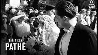 Hapsburg Princess Weds Prince Of Liechtenstein (1949)