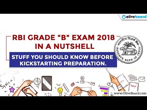 RBI Grade B 2018 in a nutshell | RBI jobs 2018