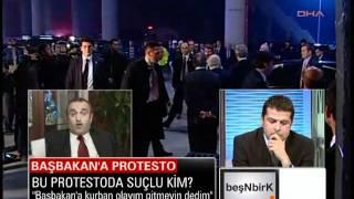 Galatasaray maçında Başbakan Erdoğan'a protesto