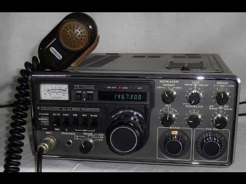Kenwood TS 700S Vintage 2 meter VHF all mode transceiver