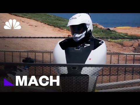 This Personal Flying Vehicle Is Ready For Take Off | Mach | NBC News
