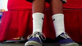 Espacioso Señora Anotar  Long nike socks and vans - YouTube