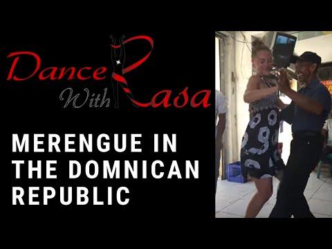 Merengue dancing in Santo Domingo, Dominican Republic
