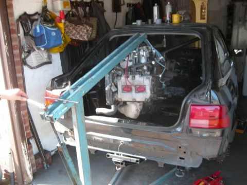 Mid Engine Subaru Powered Rwd Escort Youtube
