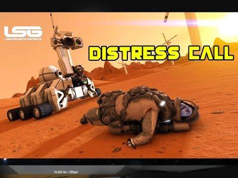 Space Engineers - Distress Call Cinematic (Unused Survival)