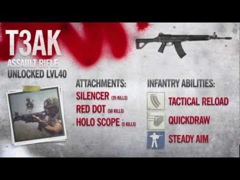 T3AK - Homefront Multiplayer Gameplay, Weapon Guide & Gun Review