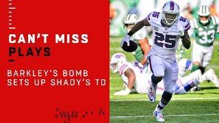 Barkley's Bomb to Foster & Shady's TD Run, Bills Take the Lead