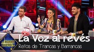 Cepeda y Ana Guerra se divierten con 'La Voz al revés' - El Hormiguero 3.0