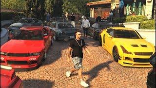 Elegy Retro Vs Elegy Car Meet GTA 5 Online