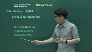Ngữ văn | Số 4: Tràng giang - Chiều tối | Chinh phục kỳ thi 2018 | VTV7