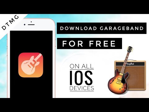 How to download GarageBand For free on iOS