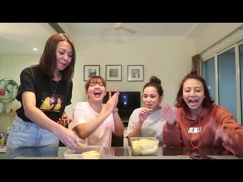 DURIAN + SAYUR + SAMYANG ! DE FAM Eat What You Don't Like CHALLENGE - DON'T WATCH KALAU GELI