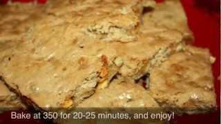 Vanilla Blonde Brownies With Hershey's White Chips