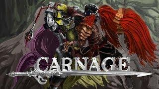 Обзор Carnage.  Браузерная онлайн игра.
