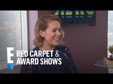 Alyssa Milano Reveals Her Secret to Staying in Shape | E! Live from the Red Carpet