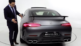 2019 Mercedes AMG GT 4 Door Coupe | GT63S BRUTAL Drive Review 4MATIC + Sound Exhaust Acceleration