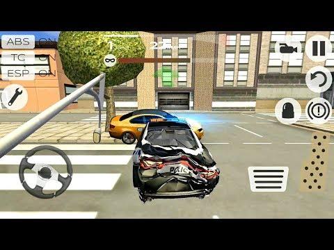 ГОНКИ ЗА НАРУШИТЕЛЯМИ НА КРУТЫХ МАШИНАХ ИГРА НА ТЕЛЕФОНЫ АНДРОИД И IOS EXTREME CAR DRIVING RACING 3D