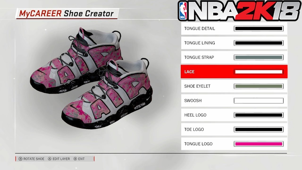 CREATING OUR OWN CUSTOM SHOE! NBA 2K18 MyCAREER:: ROAD TO 99 EP .2