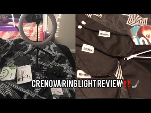 Crenova Ring Light Unboxing & Review‼️ + HighOh Reusable Pads Review!