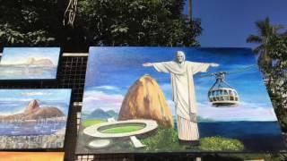ВЖ Рио де жанейро Выставка художников Chafariz das Saracuras (1795) na Praça General Osório,(В прошлом видео я рассказывала о ярмарке мастеров «Хиппи» в районе Ипанема Рио де Жанейро. На ярмарке прода..., 2016-07-13T21:20:55.000Z)