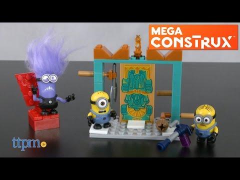 Mega-Bloks Minions Despicable Fortress Break-In