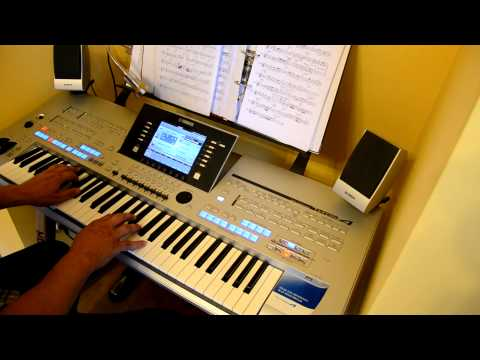 Richard Clayderman - A Comme Amour - Yamaha - Tyros 4 - Cover