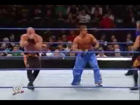 Teddy Hart (tryout) & JD Michaels Vs Bashams June 2 2005 WWF Velocity