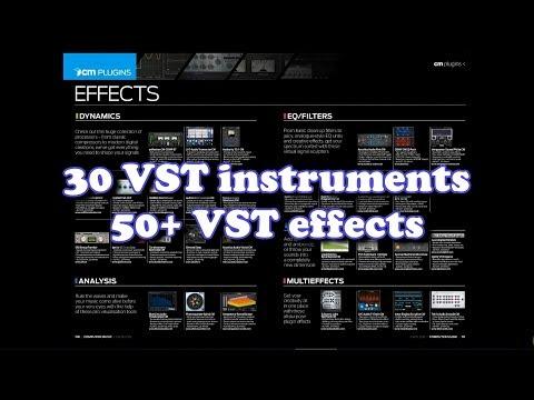 80  free VST plugins - Computer Music Magazine