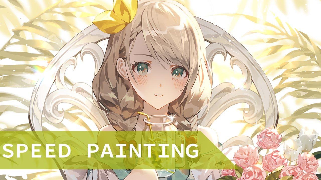 [speed painting] Lemonade