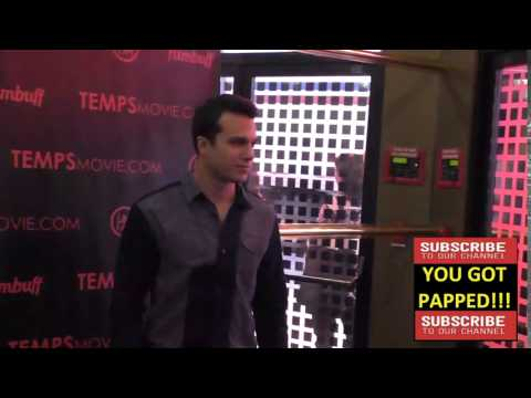 Chris Riggi at the Los Angeles Premiere Of Temps at Leammle Ahrya Fine Arts in Beverly Hills