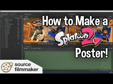 How To Make A Splatoon Poster In SFM (And How To Edit It)