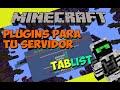 Minecraft: Plugins para tu Servidor - Tablist (Tab Personalizado)