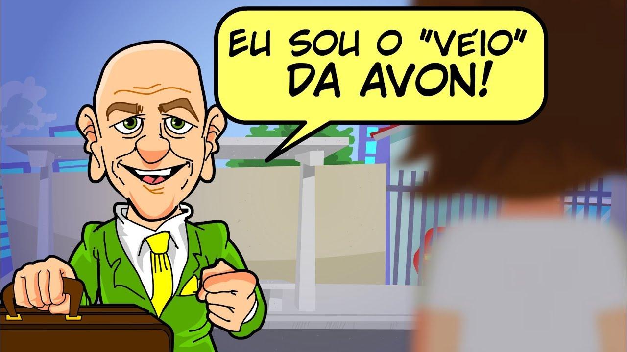 """""""VÉIO"""" DA AVON BATE À SUA PORTA!"""