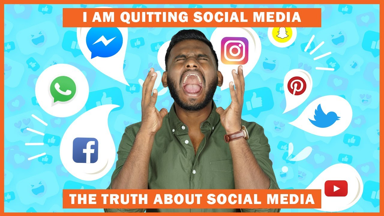 TRUTH about SOCIAL-MEDIA Apps | I am QUITTING Social Media | Here's WHY?