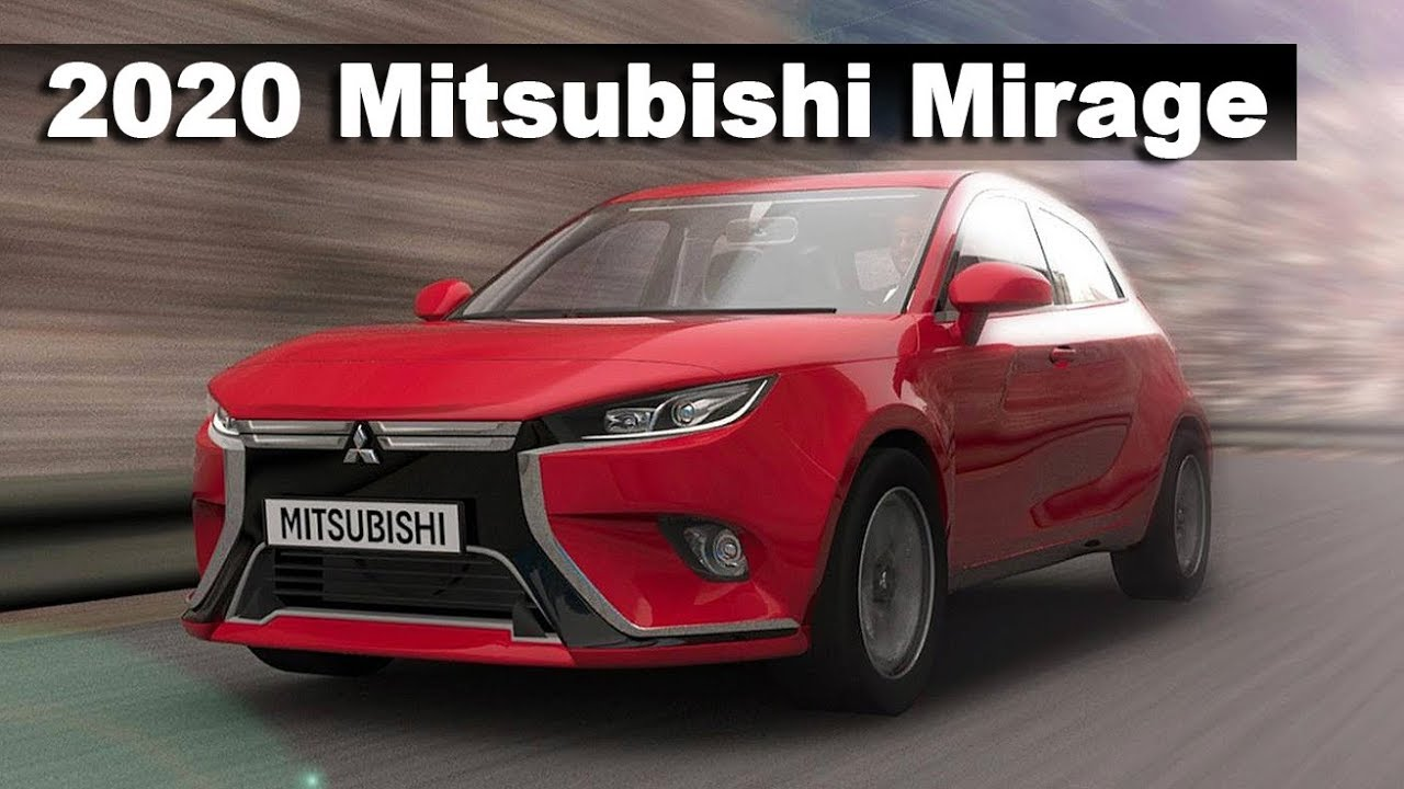 All New 2020 Mitsubishi Mirage Preview - YouTube