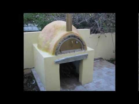 ΚΑΤΑΣΚΕΥΗ ΠΑΡΑΔΟΣΙΑΚΟΥ ΞΥΛΟΦΟΥΡΝΟΥ (PIZZA OVEN) - OVEN CONSTRUCTION