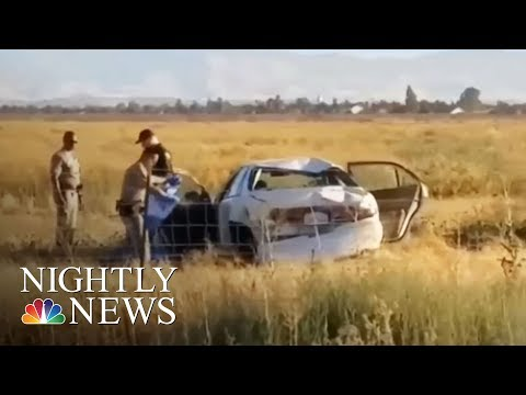 Police: After Car Crash, California Woman Livestreamed Sister's Death | NBC Nightly News