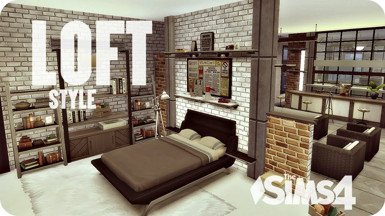 The Sims 4 - Обустраиваем квартиру в стиле