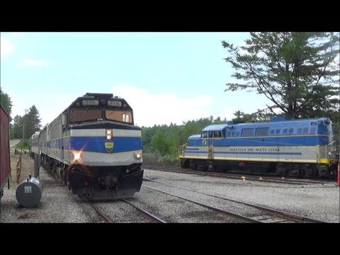 [HD] Riding the Saratoga & North Creek Railway: 8/12/16