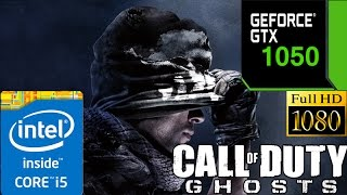 Call of Duty Ghosts On GTX 1050 2GB | Ultra Settings | 1080p