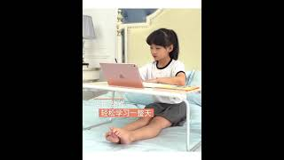공부방 책상 침대위 작은 테이블 어린이 독서 테이블
