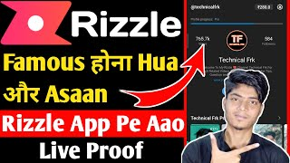 Rizzle App   YouTube Tiktok Ka Baap   How To Grow Rizzle Channel   How To Earn Money on Rizzle App screenshot 4